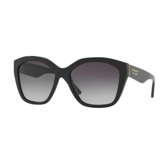 BURBERRY B4261-F 3001 BLACK FRAME Sunglasses